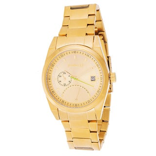 Jonathan Ct. Monmouth Men's Analog Goldtone Steel Watch