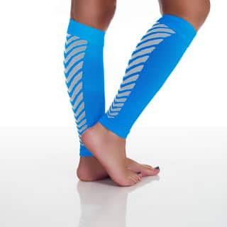 Remedy Calf Sport Compression Running Sleeve Socks Blue|https://ak1.ostkcdn.com/images/products/9817466/P16982829.jpg?impolicy=medium