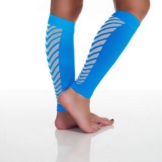 Remedy Calf Sport Compression Running Sleeve Socks Blue