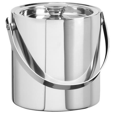 Stainless Steel 3-quart Double Wall Ice Bucket