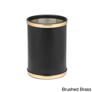 Sophisticates 10.25-inch Round Wastebasket