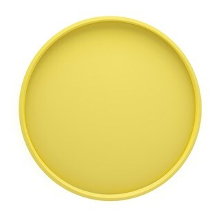 Fun colors 14-inch Round Serving Tray