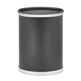 Sophisticates 14-inch Oval Waste Basket