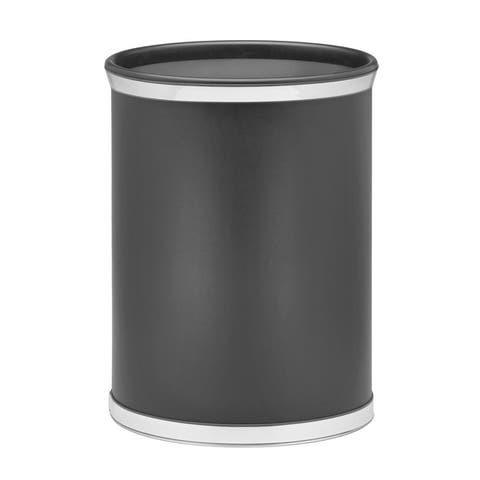 Sophisticates 14-inch Oval Waste Basket