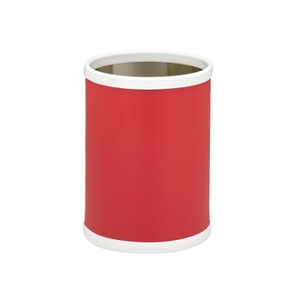 Fun Colors 10.25-inch Wastebasket (Option: Red)