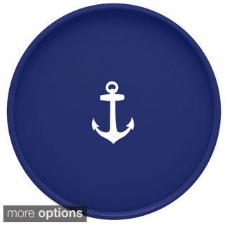 Kasualware Designs 14-inch Round Serving Tray