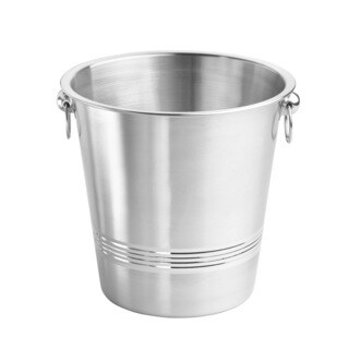 Single-wall Brushed Champagne Bucket