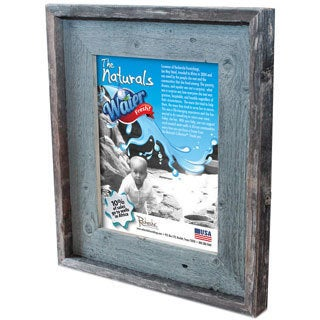 Recherche Furnishings Stone Blue Recycled and Reclaimed Frame (8 x 10)