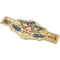 World Wrestling Championship Belt Costume Accessory