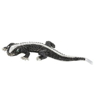 Tuxedo Reptile Trinket Box with Pendant
