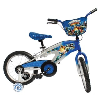Street Flyers Skylanders Boy's Blue Bicycle with 16-inch Wheels and 11-inch Frame