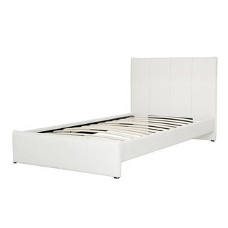 CorLiving Fairfield Bonded Leather Twin/ Single Bed