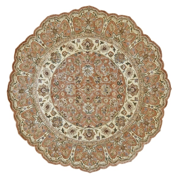 Shop Grand Bazaar Tufted 100-percent Wool Pile Ziba Rug In