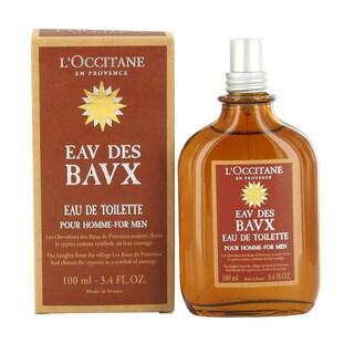 L'Occitane Eav Des Bavx Pour Homme Men's 3.4-ounce Eau de Toilette Spray