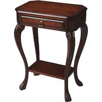 Butler Traditional Rectangular Plantation Cherry Console Table - Dark Brown