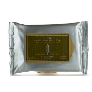 L'Occitane Verveine Fresh Hand and Body Towelettes