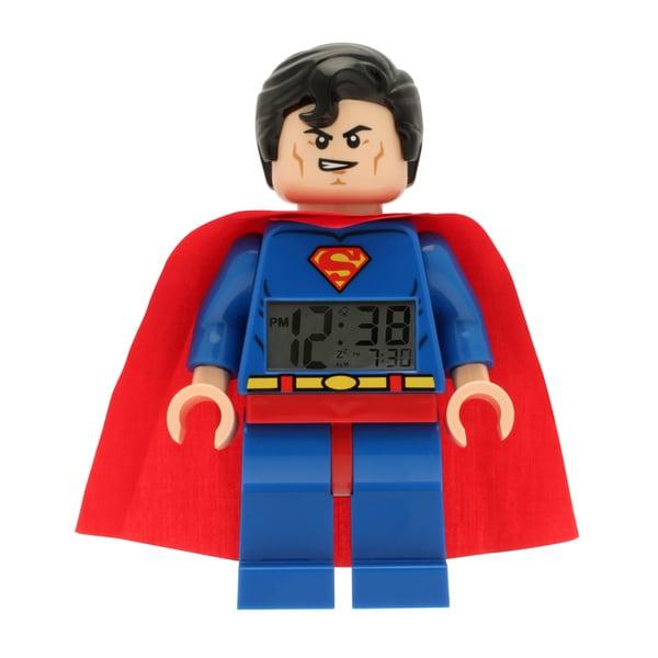 LEGO Super Heroes Superman Kid's Moveable Minifigure Alarm Clock