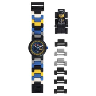 LEGO Movie Bad Cop Kid's Minifigure Interchangeable Links Watch