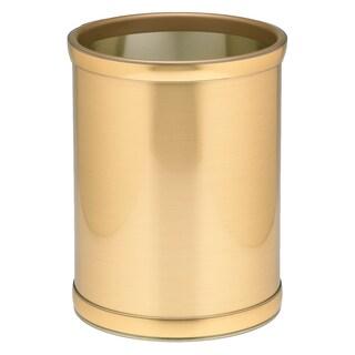 Mylar Metalic 10.25-inch Round Waste Basket (3 options available)