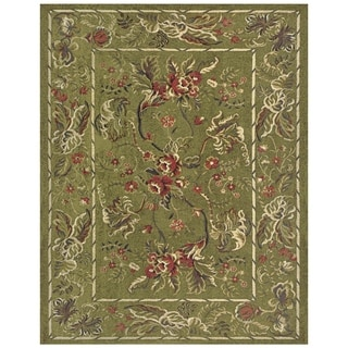 Grand Bazaar Wilshire Area Rug in Sage (5'3 x 7'9)