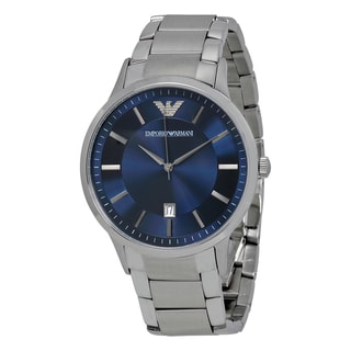 Emporio Armani Men's AR2477 'Classic' Silver Stainless Steel Watch