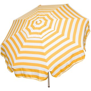 Italian Bistro 6-foot Acrylic Striped Patio Umbrella (More options available)