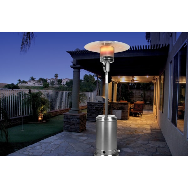 Shop Northern Trail Stainless Steel 41000 Btu Patio Heater Free