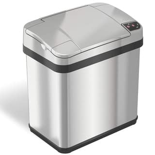 iTouchless Stainless Steel 2.5-gallon Multi-function Sensor Garbage Can|https://ak1.ostkcdn.com/images/products/9818498/P16983663.jpg?impolicy=medium
