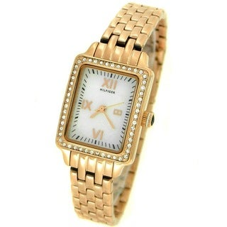 Tommy Hilfiger Women's 1781128 Rose-tone Stainless Steel Watch