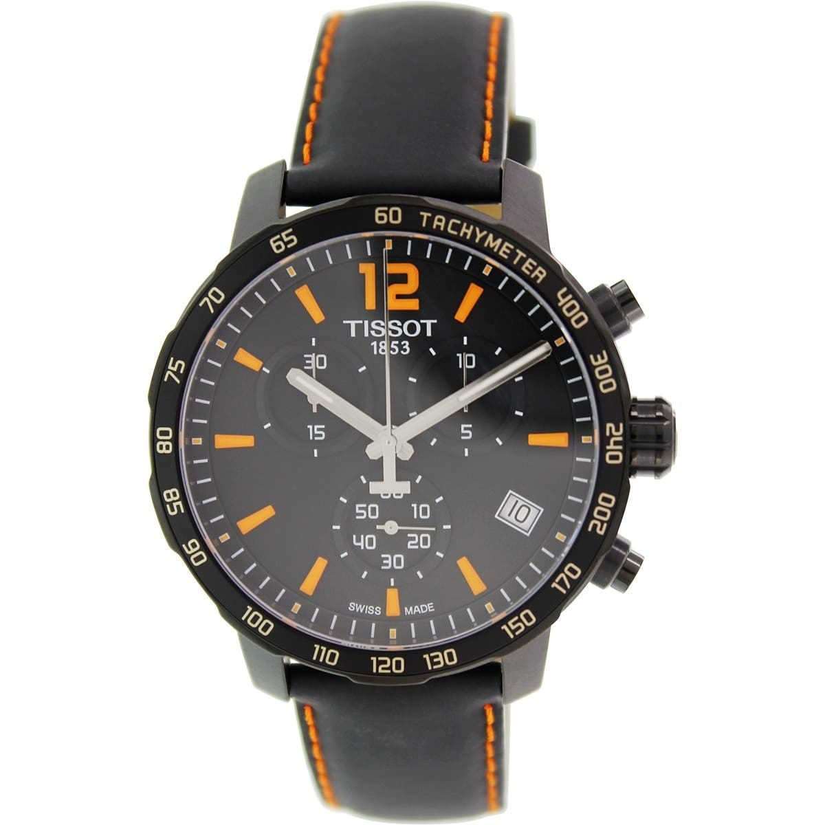 men s watches find great watches deals shopping at 12760 | tissot mens t0954173605700 quickster chronograph black leather watch b25390d9 edb7 48fc 9dcb bdb91f71695e impolicy medium