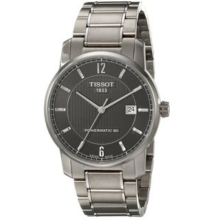 Tissot Men's T0874074405700 'T-Classic' Automatic Stainless Steel Watch