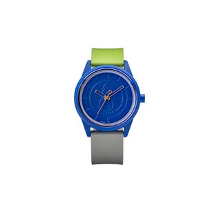 Smile Solar Men's Blue/ Green Watch
