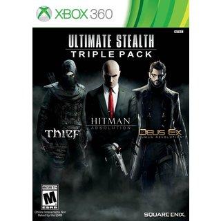 Xbox 360 - Ultimate Stealth Triple Pack (Thief/Hitman: Absolution/Deus Ex: Human Revolution)