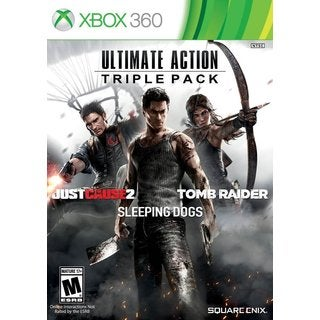 Xbox 360 - Ultimate Action Triple Pack (Tomb Raider/Just Cause 2/Sleeping Dogs)