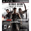 PS3 - Ultimate Action Triple Pack (Tomb Raider/Just Cause 2/Sleeping Dogs)