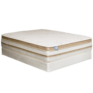 Furniture of America Dreamax 15-inch King-size Euro Top Gel Memory Foam Hybrid Mattress