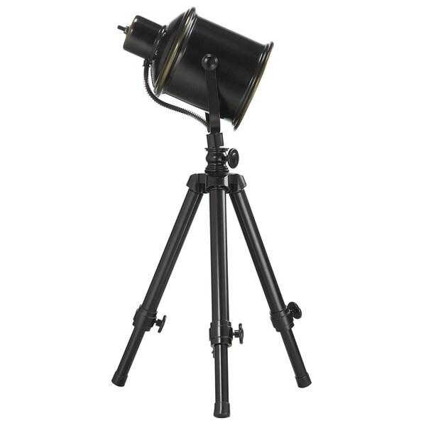 Directoru0027s Adjustable Tripod 1 Light Spotlight Lamp By INSPIRE Q Artisan    Free Shipping Today   Overstock.com   16984253