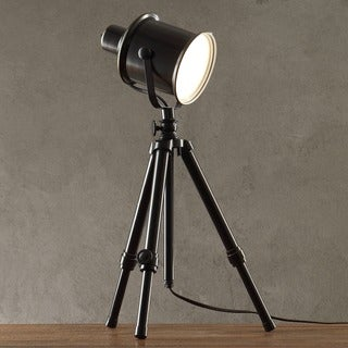 MID-CENTURY LIVING Director's Adjustable Tripod 1-light Spotlight Lamp