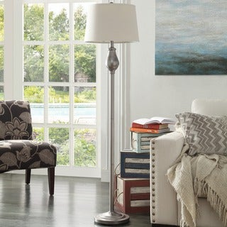 Schubert 3-way Bronze Contoured Base 1-light Accent Floor Lamp by INSPIRE Q
