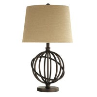 Natural Finish Table Lamps
