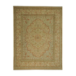 Tabriz Dense Weave Wool Oriental Hand-knotted Area Rug (8'1 x 10'5)