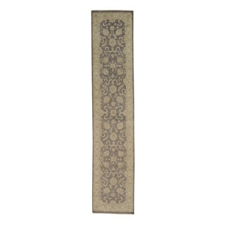 Washed Out Purple Sultanabad Oriental Area Rug (2'8 x 12'6)