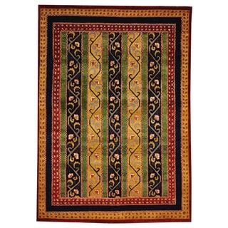 Kashkuli Hand-knotted Wool Oriental Area Rug (5'5 x 7'7)