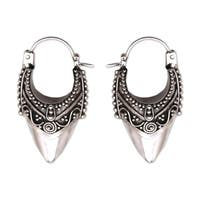 Handmade Sterling Silver 'Bali Origin' Earrings (Indonesia)