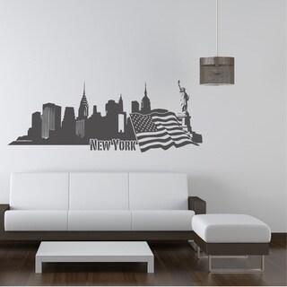 New York II Skyline Vinyl Wall Decal
