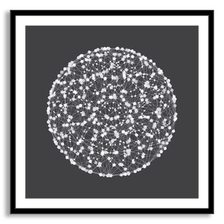 Gallery Direct Kovalto1's 'Circle Points' Framed Paper Art