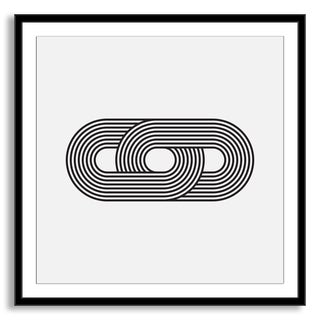 Gallery Direct Kovalto1's 'Geometric Abstraction I' Framed Paper Art