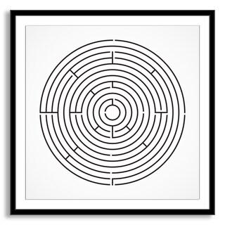 Gallery Direct Kovalto1's 'Maze' Framed Paper Art