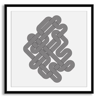 Gallery Direct Kovalto1's 'Geometric Abstraction II' Framed Paper Art