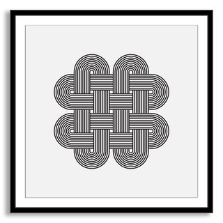 Gallery Direct Kovalto1's 'Geometric Abstraction III' Framed Paper Art